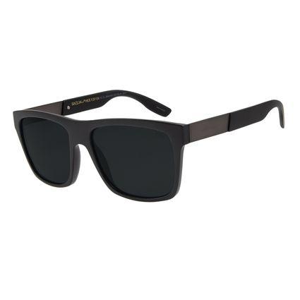 Óculos de Sol Masculino Chilli Beans Bossa Nova Fosco Polarizado OC.CL.2946-0131