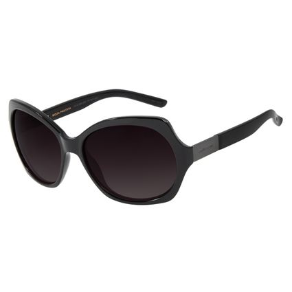 Óculos de Sol Feminino Chilli Beans Quadrado Preto Polarizado OC.CL.3000-2001