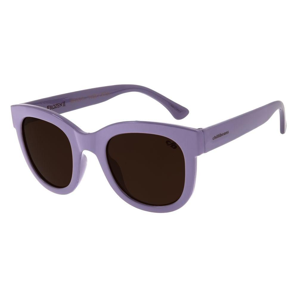 Óculos de Sol Infantil Frozen II Hipoalergênico Roxo OC.KD.0635-0214