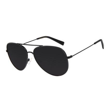 Óculos de Sol Unissex Chilli Beans Aviador Preto OC.MT.2700-0101