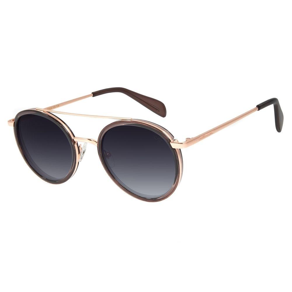 Óculos de Sol Feminino Chilli Beans Banhado A Ouro Degradê OC.MT.2786-2095