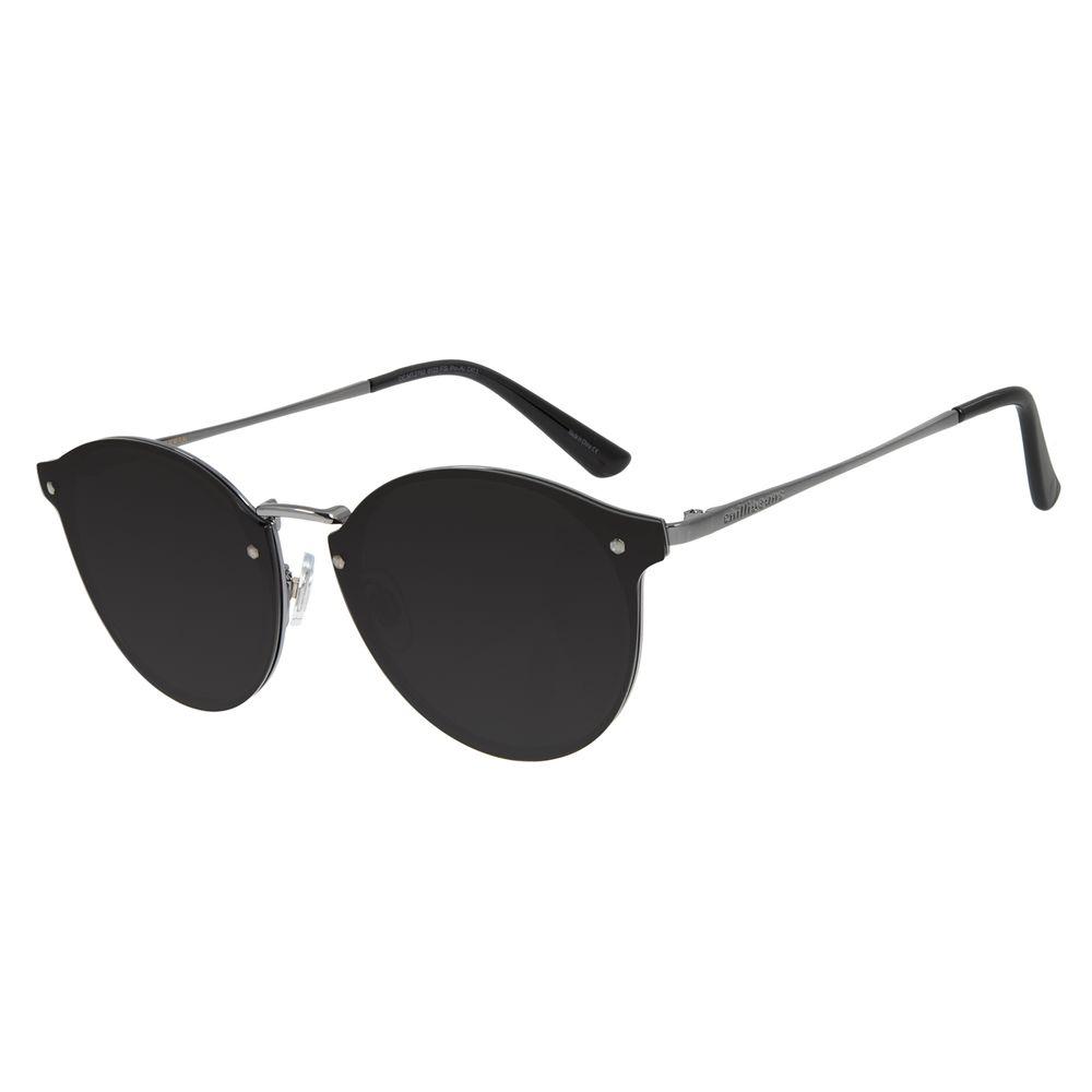 Óculos de Sol Feminino Chilli Beans Redondo Metal Ônix OC.MT.2792-0122
