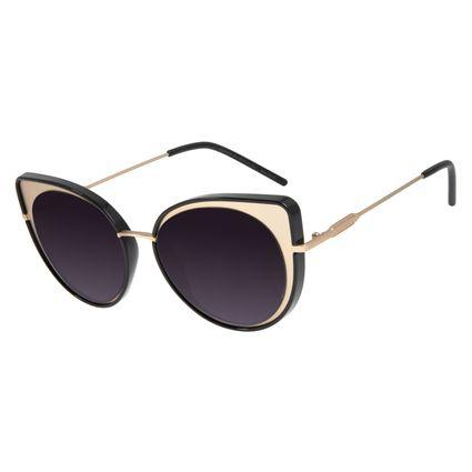 Óculos de Sol Feminino Chilli Beans Gatinho Dourado OC.MT.2793-2021