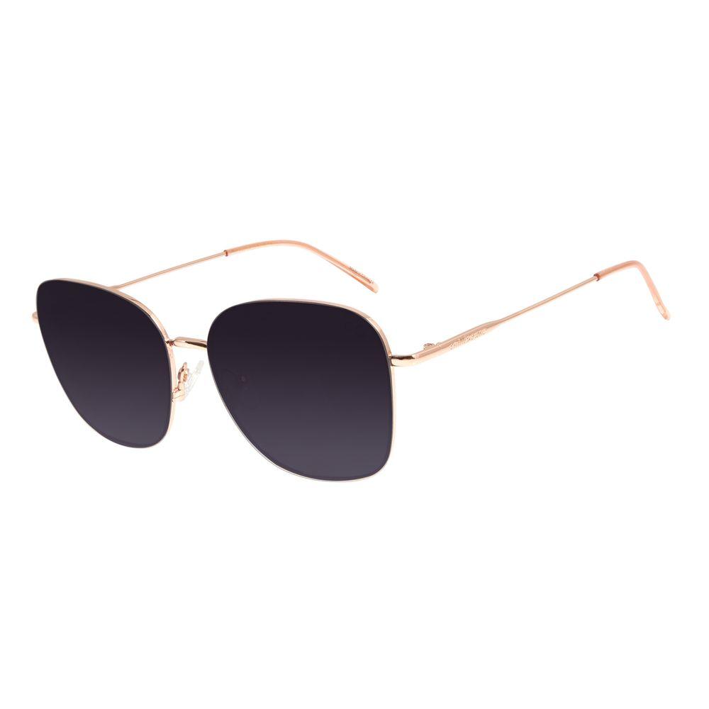 Óculos de Sol Feminino Chilli Beans Quadrado Rosê OC.MT.2854-2095
