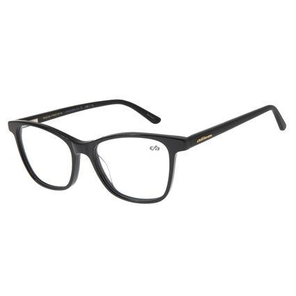 Armação Para Óculos de Grau Feminino Chilli Beans Quadrado Classic Preto LV.AC.0524-0101
