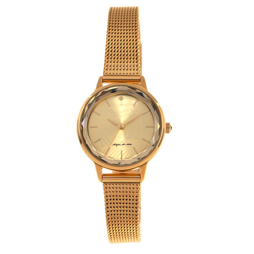 Relógio Analógico Feminino Água de Coco Coqueiro Dourado RE.MT.0951-2121