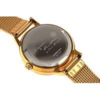 Relógio Analógico Feminino Água de Coco Coqueiro Dourado RE.MT.0951-2121.5