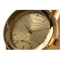 Relógio Analógico Feminino Água de Coco Coqueiro Dourado RE.MT.0951-2121.7