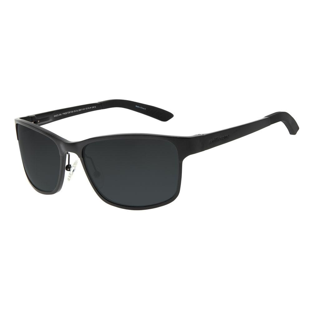 Óculos de Sol Masculino Chilli Beans Esportivo Preto OC.AL.0237-0101