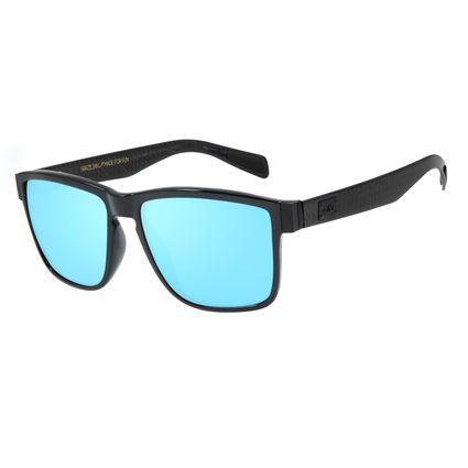 Óculos de Sol Masculino Chilli Beans Carbon Hard Quadrado Preto OC.CL.2981-9101