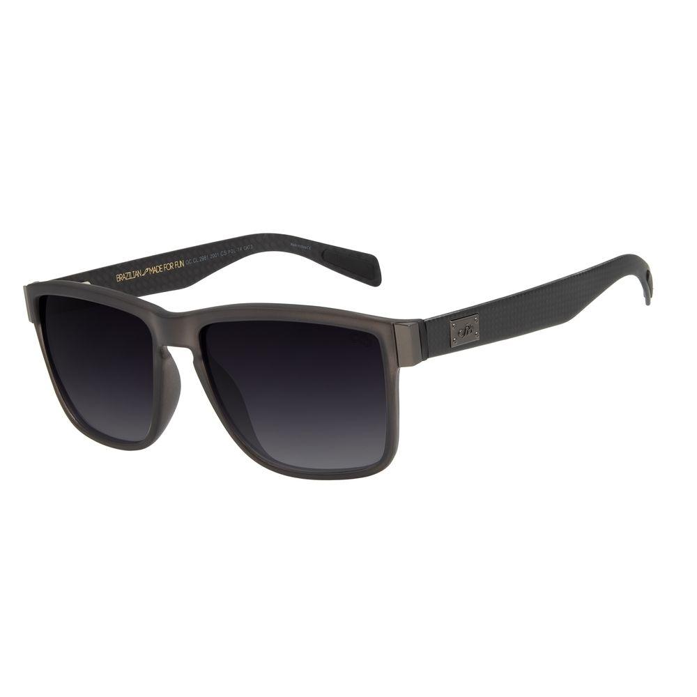 Óculos de Sol Masculino Chilli Beans Carbon Hard Quadrado Degradê OC.CL.2981-2001