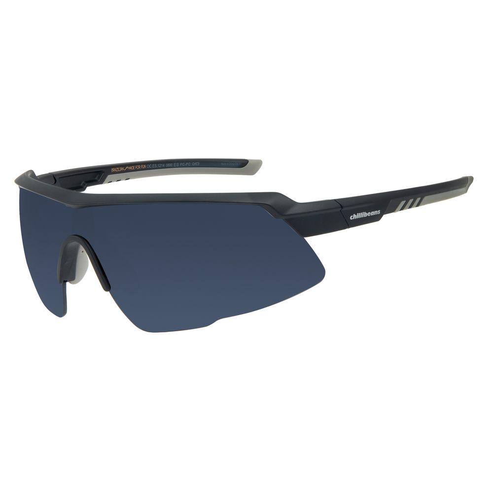 Óculos de Sol Masculino Chilli Beans Sports Flutuante Azul Escuro OC.ES.1214-0890