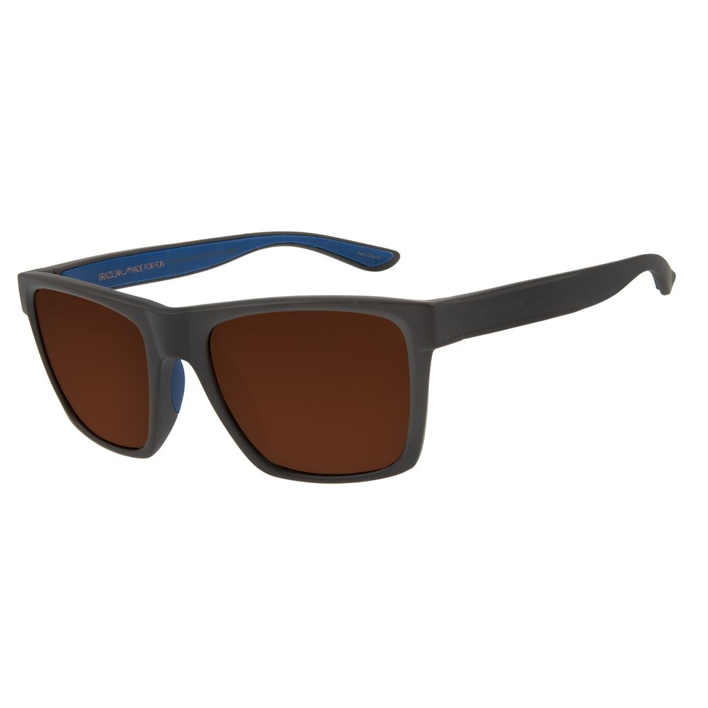 Óculos de Sol Masculino Chilli Beans Sports Marrom Escuro Polarizado OC.ES.1215-0247
