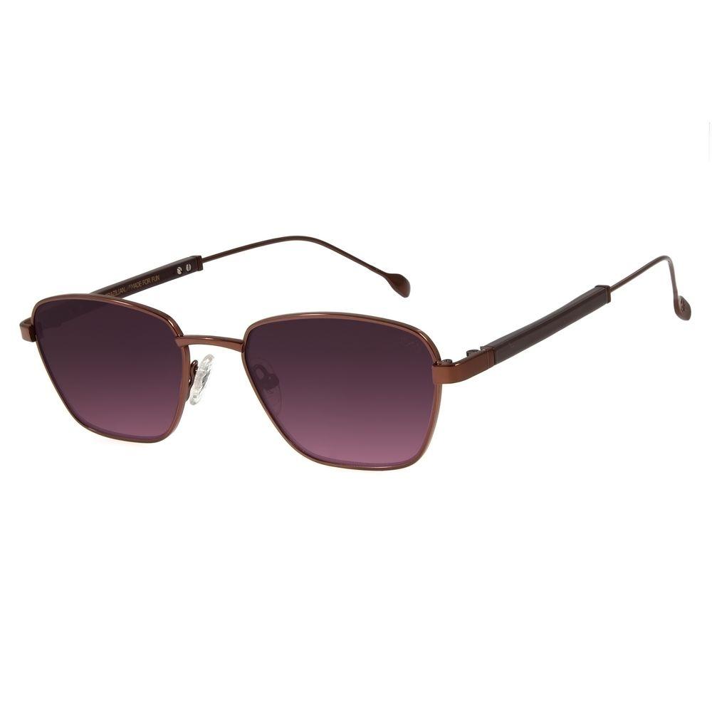 Óculos de Sol Feminino Água de Coco Narrow Marrom OC.MT.2806-2002