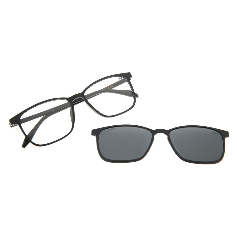 Armação Para Óculos de Grau Masculino Chilli Beans Multi Preto Polarizado LV.MU.0175-0401