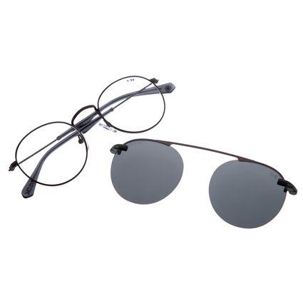 Armação Para Óculos de Grau Unissex Alok Chilli Beans Polarizado Cinza LV.MU.0328-0404