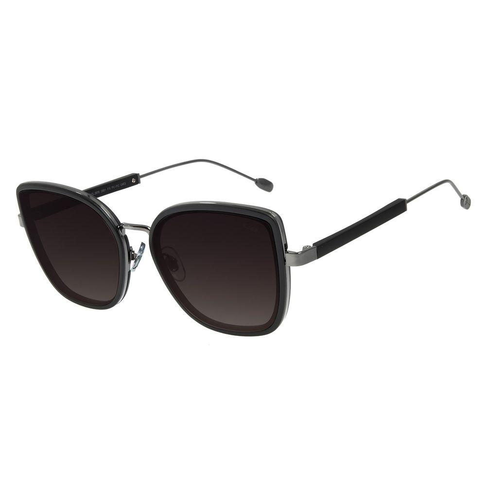 Óculos de Sol Feminino Água de Coco Gatinho Maxxi Preto OC.CL.2979-2001