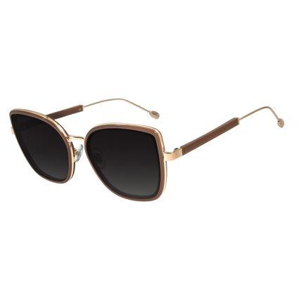 Óculos de Sol Feminino Água de Coco Gatinho Maxxi Caramelo OC.CL.2979-8203