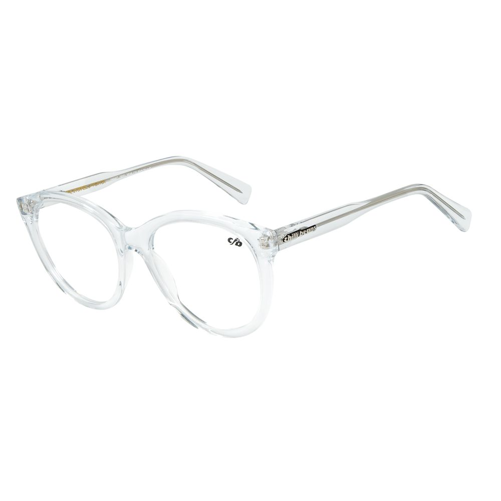 Armação Para Óculos De Grau Chilli Beans Cristal Transparente LV.AC.0651-3636