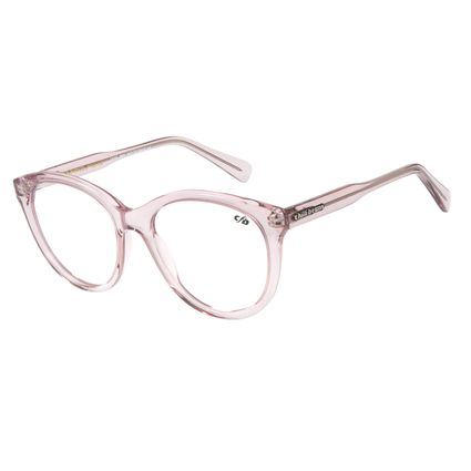 Armação Para Óculos De Grau Chilli Beans Cristal Pink Rosa LV.AC.0651-1313