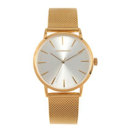 Relógio Analógico Feminino Chilli Beans Metal Dourado RE.MT.0967-0721