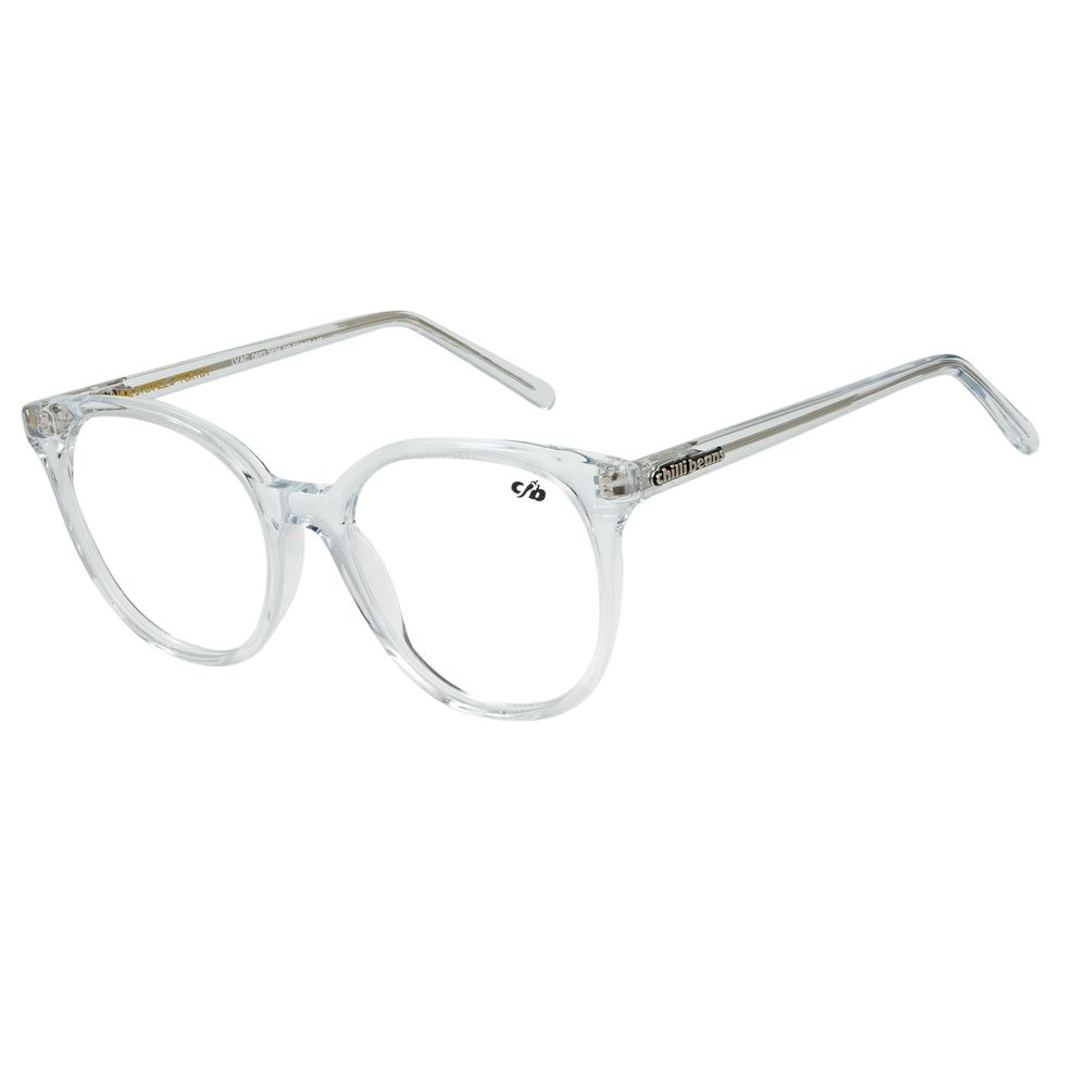 Armação Para Óculos De Grau Chilli Beans Cristal Transparente LV.AC.0652-3636