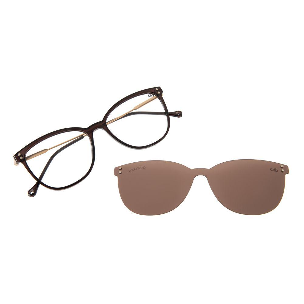 Armação Para Óculos de Grau Multi Feminino Chilli Beans Marrom Polarizado LV.MU.0330-0202