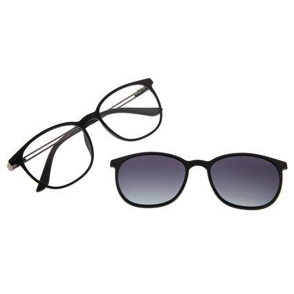 Armação Para Óculos de Grau Feminino Chilli Beans Multi Preto Polarizado LV.MU.0187-2001