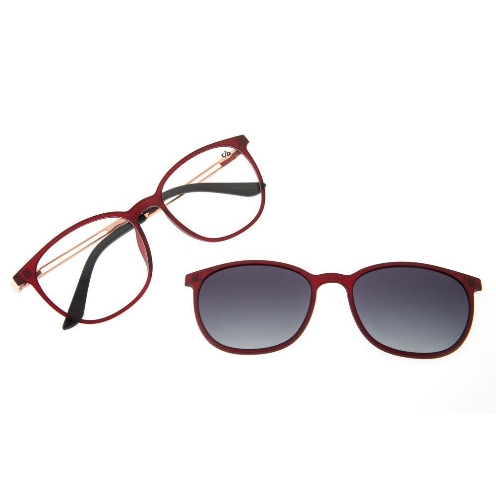 Armação Para Óculos de Grau Feminino Chilli Beans Multi Vinho Polarizado LV.MU.0187-2017