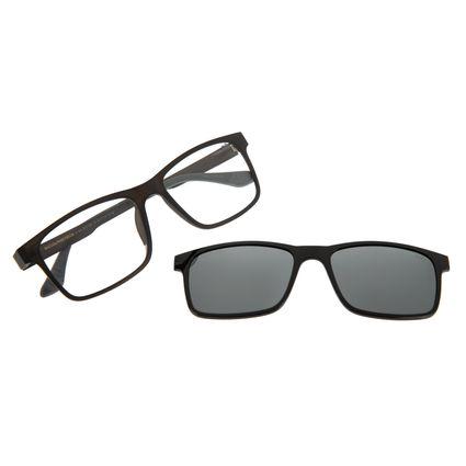 Armação Para Óculos De Grau Masculino Chilli Beans Multi Polarizado Preto LV.MU.0213-0001