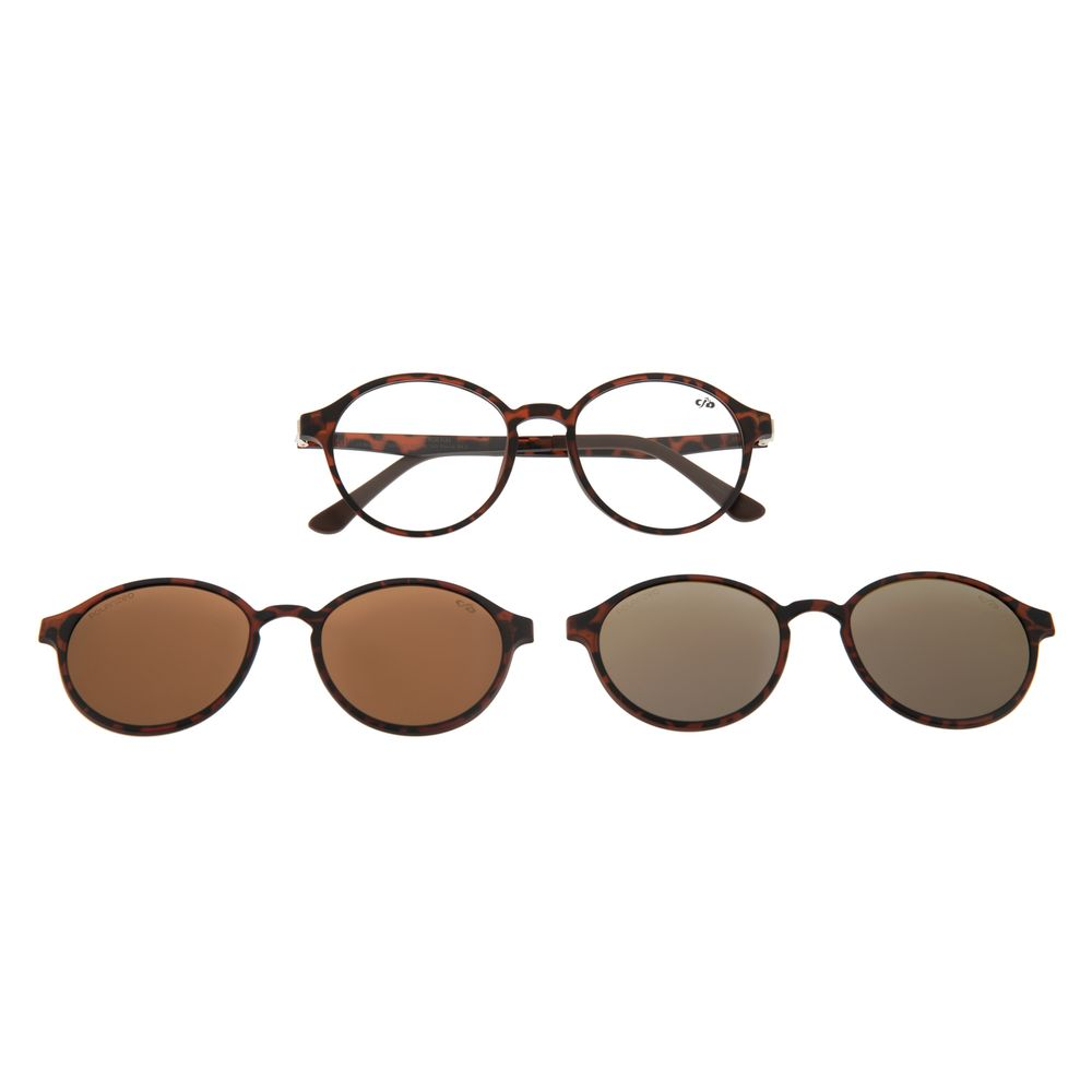 Armação para Óculos de Grau Unissex Chilli Beans Multi Polarizado Tartaruga LV.MU.0355-0206