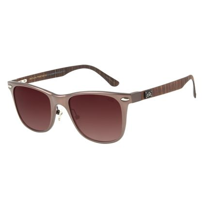Óculos de Sol Masculino Chilli Beans Esporte Polarizado Marrom OC.AL.0239-5702