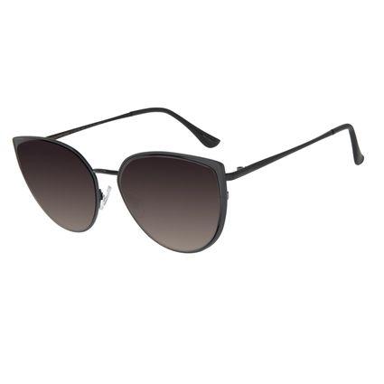 Óculos De Sol Feminino Chilli Beans Gatinho Cobre Preto OC.MT.2749-2001