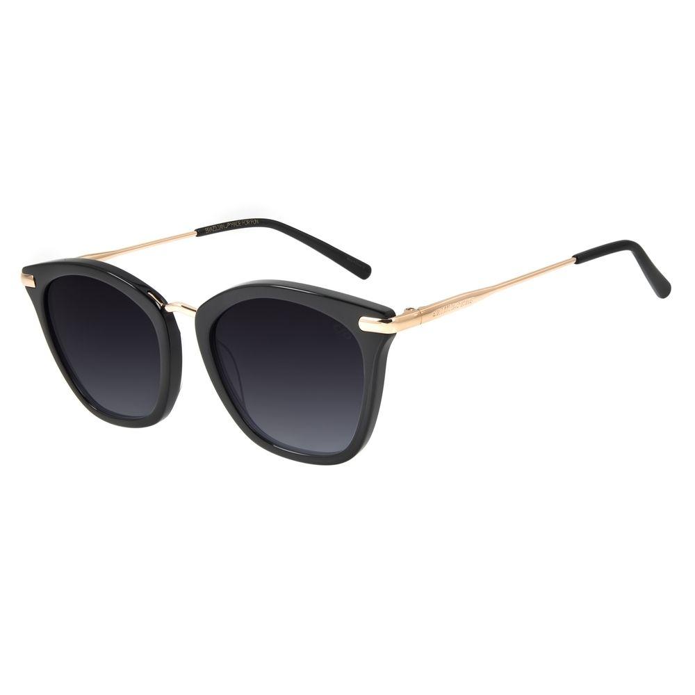 Óculos de Sol Feminino Chilli Beans Quadrado Classic Preto OC.CL.2992-2001