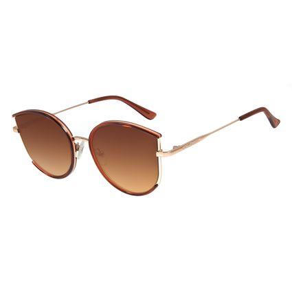 Óculos de Sol Feminino Lollapalooza Gatinho Rose OC.CL.2986-0095