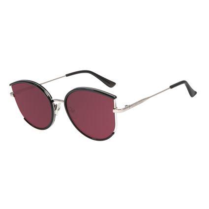 Óculos de Sol Feminino Lollapalooza Gatinho Brilho OC.CL.2986-2030