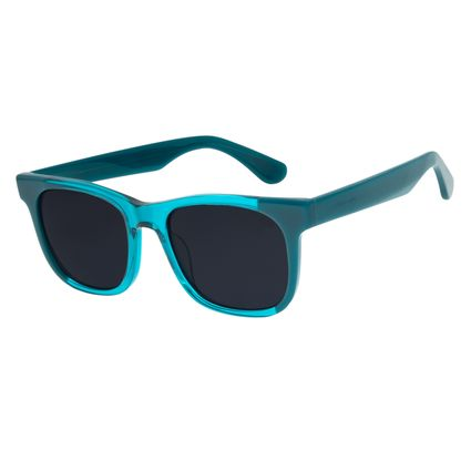 Óculos de Sol Unissex Lollapalooza Bossa Nova Azul Claro OC.CL.2987-0159