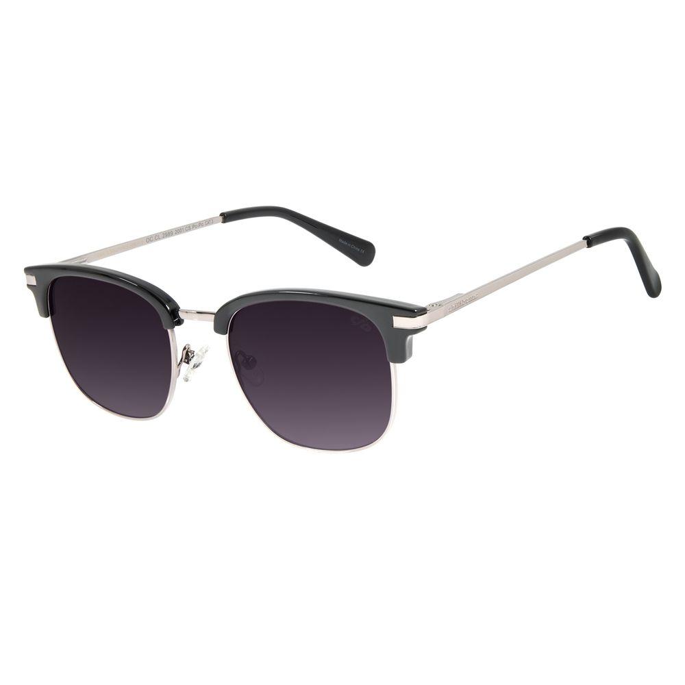 Óculos de Sol Unissex Lollapalooza Jazzy Jazz Preto OC.CL.2989-2001