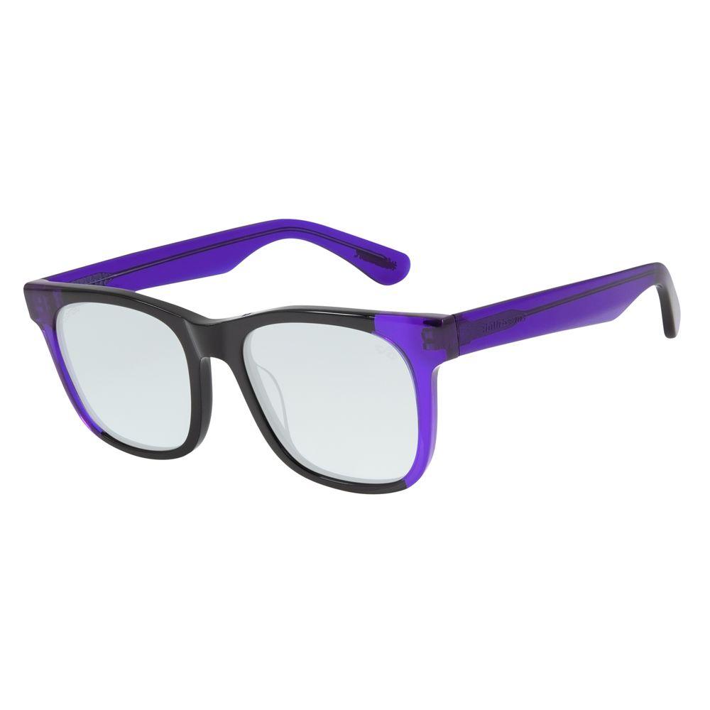 Óculos de Sol Unissex Lollapalooza Brasil Clássico Bossa Azul Polarizado OC.CL.2998-2008