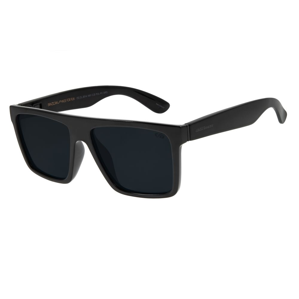 Óculos de Sol Masculino Lollapalooza Lisztomania 2 Em 1 Preto OC.CL.3014-0501