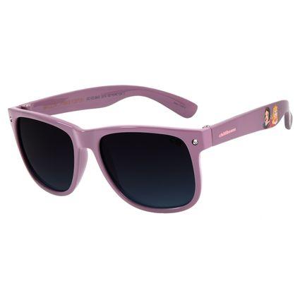 Óculos de Sol Infantil Disney Princesa Roxo Shine OC.KD.0643-2014