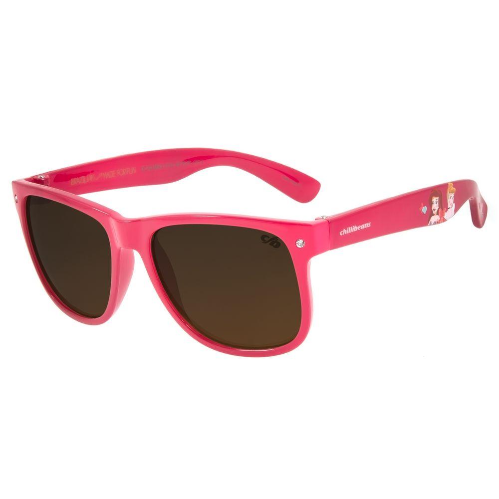 Óculos de Sol Infantil Disney Princesa Rosa Shine OC.KD.0643-5713