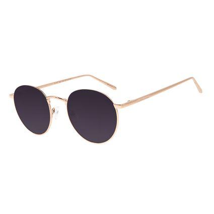 Óculos de Sol Unissex Chilli Beans Degradê Banhado A Ouro OC.MT.2590-2095