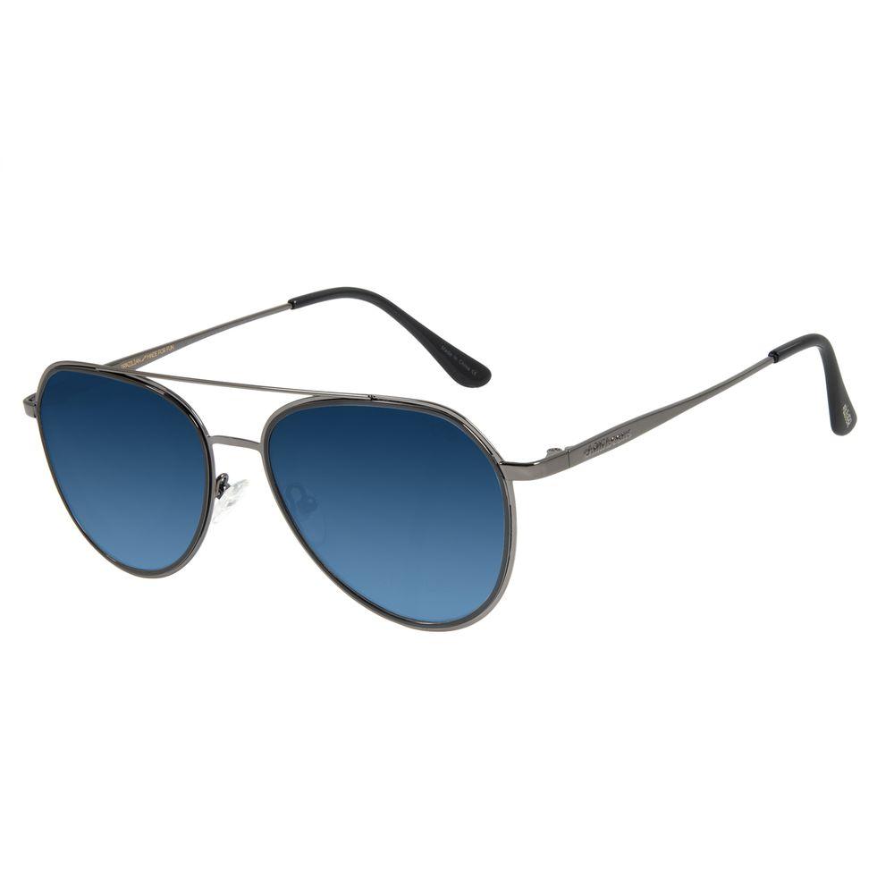 Óculos de Sol Unissex Lollapalooza Lollaviator Aviador Ônix OC.MT.2816-2022