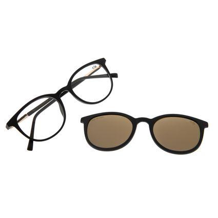 Armação Para Óculos De Grau Feminino Chilli Beans Multi Dourado Polarizado LV.MU.0316-2101