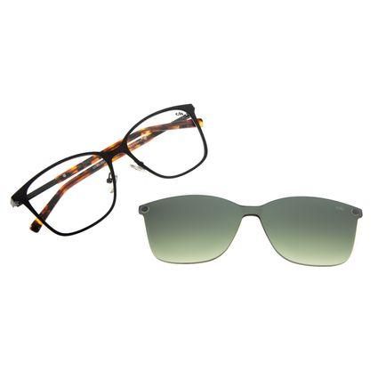 Armação Para Óculos De Grau Feminino Chilli Beans Quadrado Multi Preto LV.MU.0325-0701