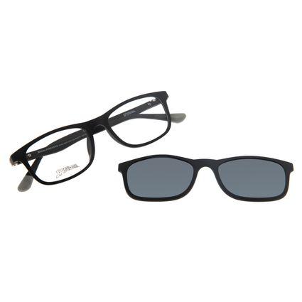 Armação Para Óculos de Grau Infantil Spider-Man Multi Preto LV.MU.0331-0101
