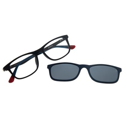 Armação Para Óculos de Grau Infantil Spider-Man Multi Azul Escuro LV.MU.0331-0190