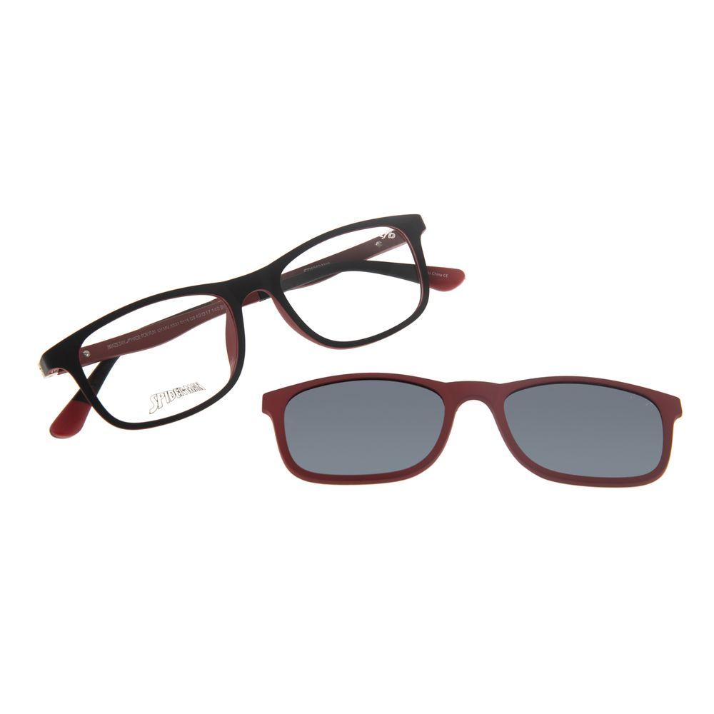 Armação Para Óculos de Grau Infantil Spider-Man Multi Vermelho LV.MU.0331-0116
