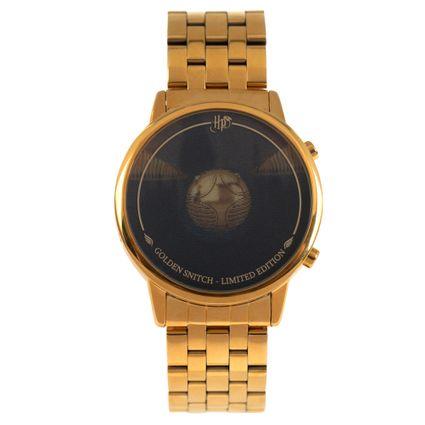 Relógio Digital Masculino Harry Potter Pomo de Ouro Dourado RE.MT.0950.0121